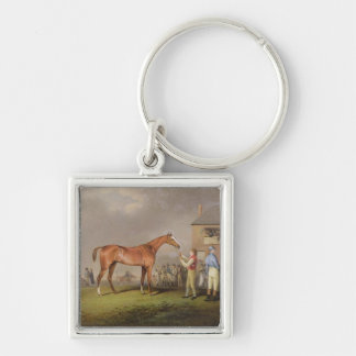 Portrait of Quiz the property of Lord Rous aft Keychain