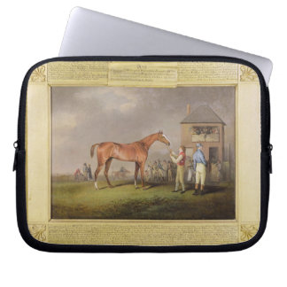 Portrait of 'Quiz', the property of Lord Rous, aft Laptop Sleeve