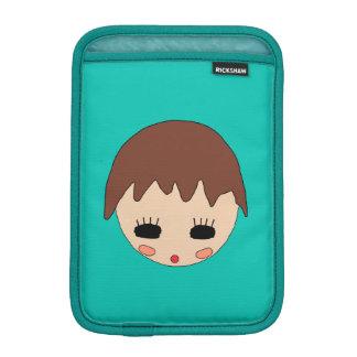 Portrait of Rain iPad Mini Sleeve