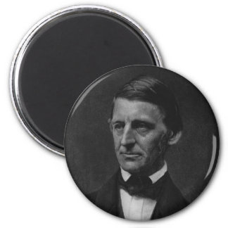Portrait of Ralph Waldo Emerson in 1901 2 Inch Round Magnet