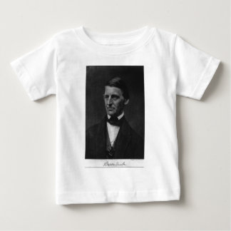 Portrait of Ralph Waldo Emerson in 1901 Baby T-Shirt