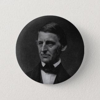 Portrait of Ralph Waldo Emerson in 1901 Button