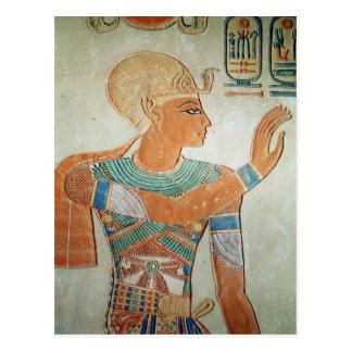Portrait of Ramesses III  from Postcard