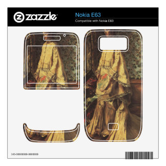 Portrait of Rapha by Pierre Renoir Decals For The Nokia E63