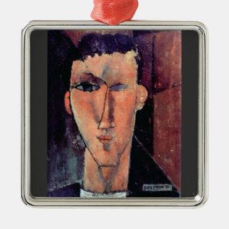 Portrait of Raymond by Amedeo Modigliani Ornaments