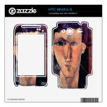 Portrait of Raymond by Amedeo Modigliani Decal For HTC Wildfire S