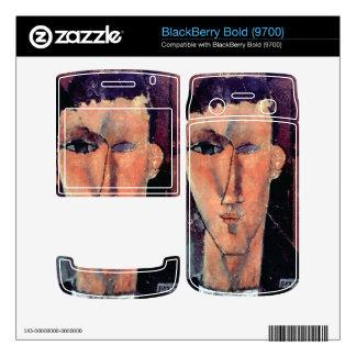 Portrait of Raymond by Amedeo Modigliani BlackBerry Bold Skin