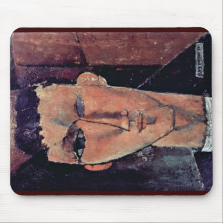Portrait Of Raymond By Modigliani Amedeo Mousepad