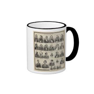 Portrait of Real Estate Dealers, Minnesota Ringer Mug
