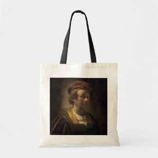 Portrait of Rembrandt, 1650 (oil on canvas) Budget Tote Bag