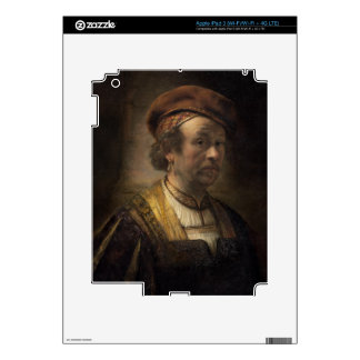 Portrait of Rembrandt, 1650 (oil on canvas) iPad 3 Skin