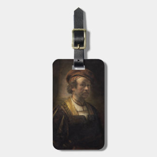 Portrait of Rembrandt, 1650 (oil on canvas) Luggage Tag