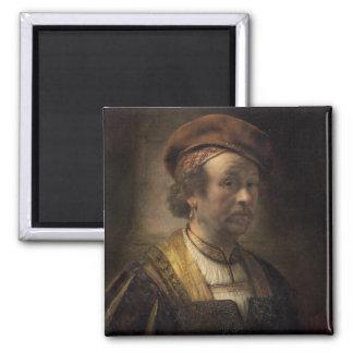 Portrait of Rembrandt, 1650 (oil on canvas) Magnet