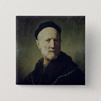 Portrait of Rembrandt's Father Button