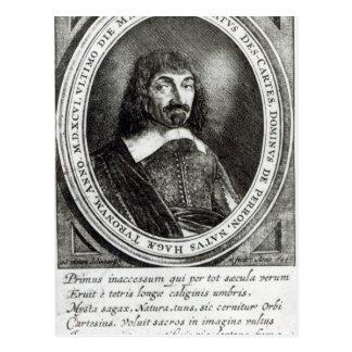 Portrait of Rene Descartes, 1644 Postcard