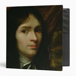 Portrait of Rene Descartes 3 Ring Binder