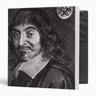Portrait of Rene Descartes Binder