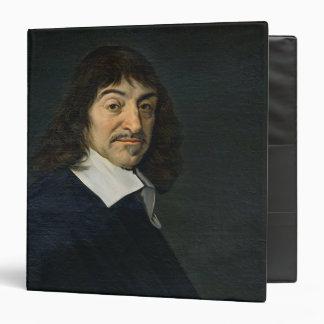 Portrait of Rene Descartes  c.1649 3 Ring Binder