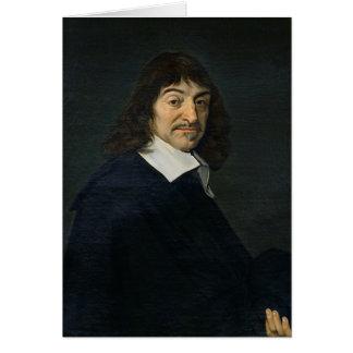 Portrait of Rene Descartes  c.1649 Card