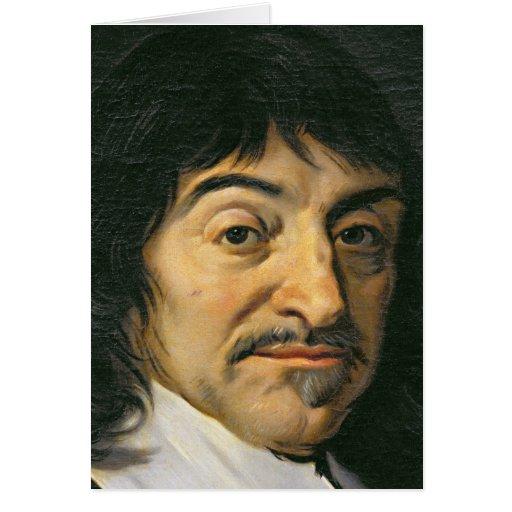 Portrait of Rene Descartes  c.1649 Greeting Card