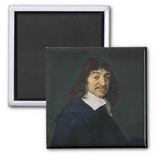 Portrait of Rene Descartes  c.1649 Magnet