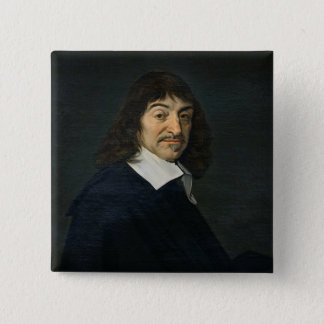 Portrait of Rene Descartes  c.1649 Pinback Button