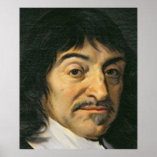Portrait of Rene Descartes  c.1649 Print