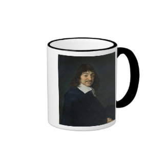 Portrait of Rene Descartes  c.1649 Ringer Mug