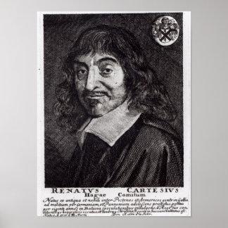 Portrait of Rene Descartes Print