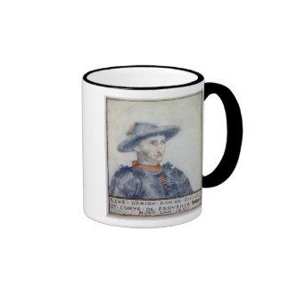 Portrait of Rene I  Duke of Anjou Ringer Mug