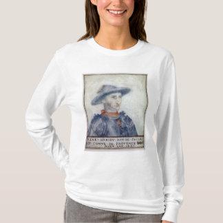 Portrait of Rene I  Duke of Anjou T-Shirt