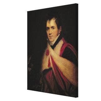 Portrait of Rev. Edward Daniel Clarke  c.1822 Canvas Print