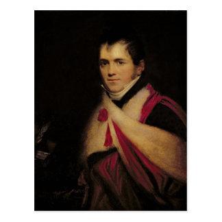 Portrait of Rev. Edward Daniel Clarke  c.1822 Postcard