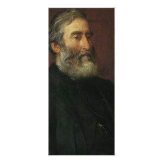 Portrait of reverend Harry Jones by George Watts Personalized Rack Card