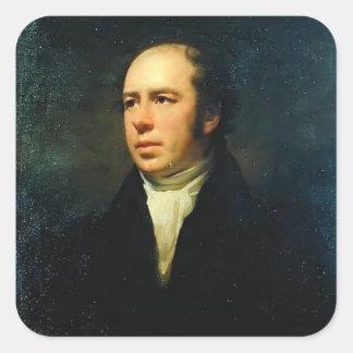 Portrait of Reverend John Thomson by Henry Raeburn Sticker