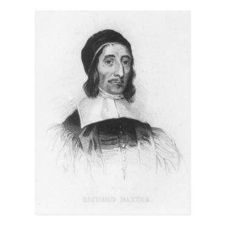 Portrait of Richard Baxter Postcard