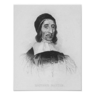 Portrait of Richard Baxter Poster