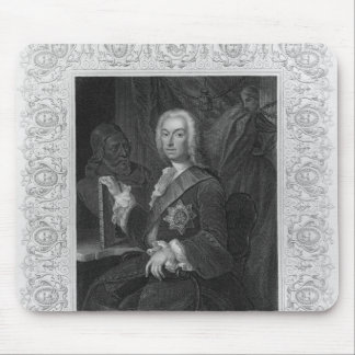 Portrait of Richard Boyle, Earl of Burlington Mouse Pad