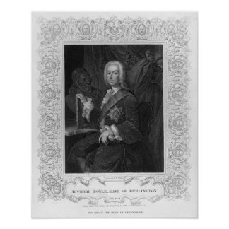 Portrait of Richard Boyle, Earl of Burlington Poster