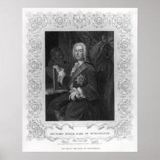 Portrait of Richard Boyle Earl of Burlington Posters