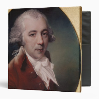 Portrait of Richard Brinsley Sheridan  1788 3 Ring Binder
