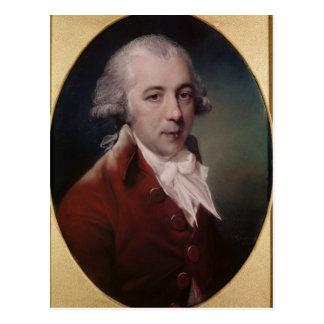Portrait of Richard Brinsley Sheridan  1788 Postcard