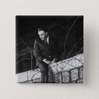 Portrait of Richard Burton Button