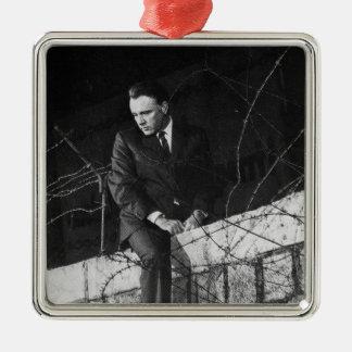 Portrait of Richard Burton Metal Ornament