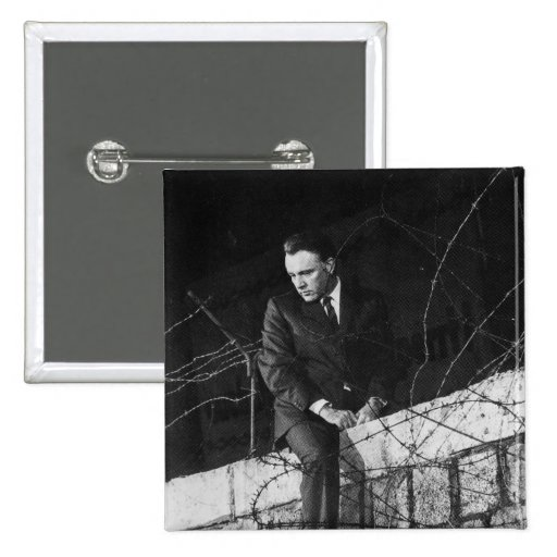 Portrait of Richard Burton Pin