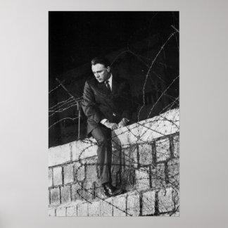 Portrait of Richard Burton Print