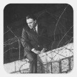 Portrait of Richard Burton Sticker