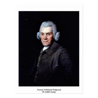 Portrait Of Richard By Stubbs George Postcard