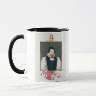 Portrait of Richard Cox (1500-81) Bishop of Ely fr Mug