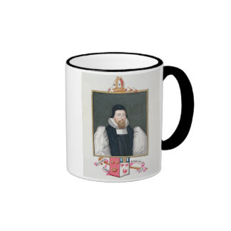 Portrait of Richard Cox (1500-81) Bishop of Ely fr Mugs